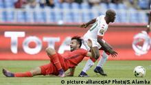 Gabon Soccer African Cup Tunesien vs. Burkina Faso