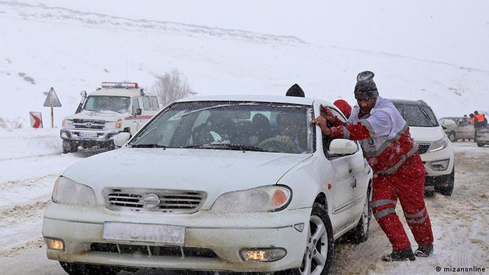 Iran Schnee und Lawinen