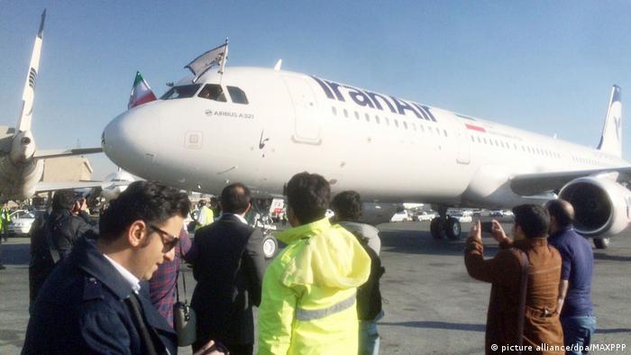 Iran erster neuer Airbus von IranAir