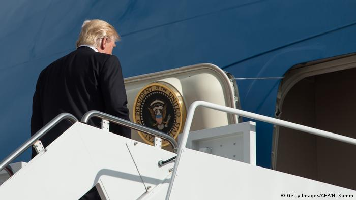 US Präsident Donald Trump (Getty Images/AFP/N. Kamm )