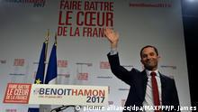 Frankreich Wahlen Benoît Hamon
