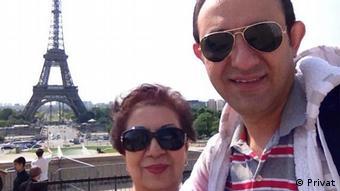 Shahin Hassanpour und Behzad Honarjou