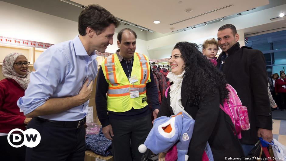 رئيس وزراء كندا يرحب بالمهاجرين ردا على الحظر الأمريكي أخبار Dw عربية أخبار عاجلة ووجهات نظر من جميع أنحاء العالم Dw 29 01 2017