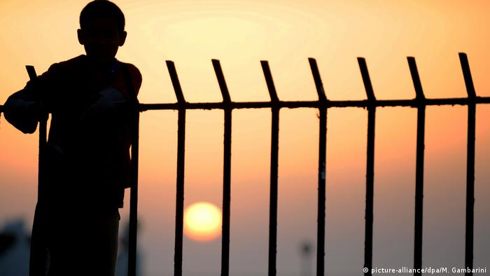 Flüchtling in Libyen
