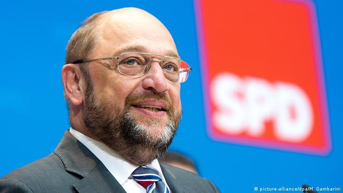 Martin Schulz SPD wird Kanzlerkandidat (picture-alliance/dpa/M. Gambarini)