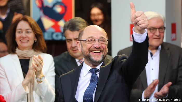 Martin Schulz nominated as SPD leader