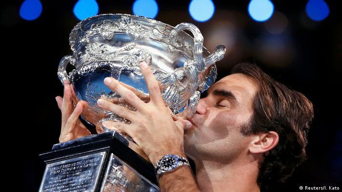 Tennis Australian Open Melbourne Park Roger Federer (Reuters/I. Kato)