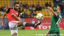 Fußball Afrika Cup Ägypten gegen Marokko