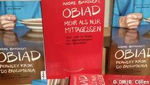 Bild 1 Cover vom Buch Andre Biakowskis Obiad. Mehr als das Mittagessen und die Übersetzung des Buches in Polnisch
