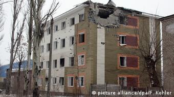 Ukrainische Kleinstadt Awdijiwka
