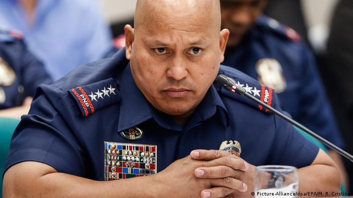 Ronald dela Rosa Polizeichef Filipinas (Picture-Alliance/dpa/EPA/M. R. Cristino)