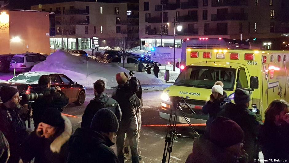 Терористички напад во џамија во Квебек