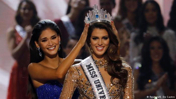 Miss Universe 2017 Pia Wurtzbach Iris Mittenaere (Reuters/E. De Castro)