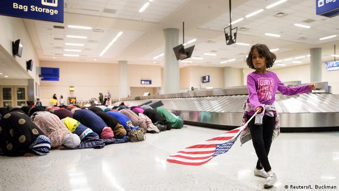 USA Dallas Flughagen Muslime Einreisestop