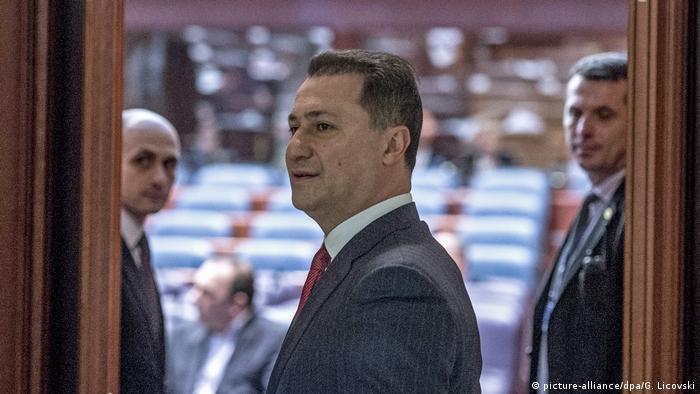 Лідер ВМРО-ДПМНЄ Нікола Груєвський