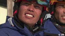 Fokus Europa Schweiz Afghanen Ski
