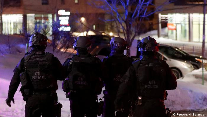 Kanade Quebec City Schießerei im Moschee