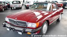 BdT - Trumps Mercedes bei badischem Oldtimerhändler