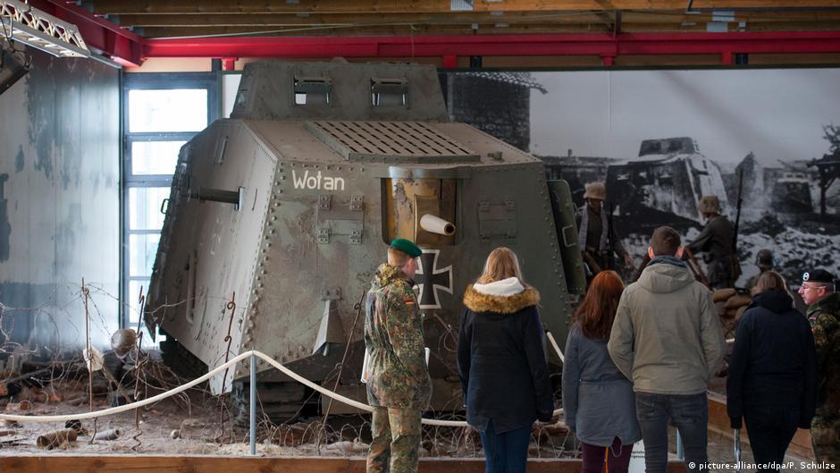 Немецкий танковый музей в Мюнстере
