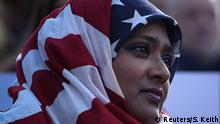 USA Amerika protestiert gegen den Einreiseverbot für Muslime