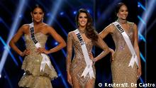 Philipinen - Miss Universe Wettbewerb mit Miss France, Miss Haiti, Miss Colombia