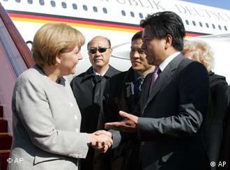 Ангела Меркель в Пекине