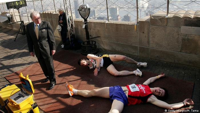 New York Empire State Building Run-Up (Getty Images/M. Tama)