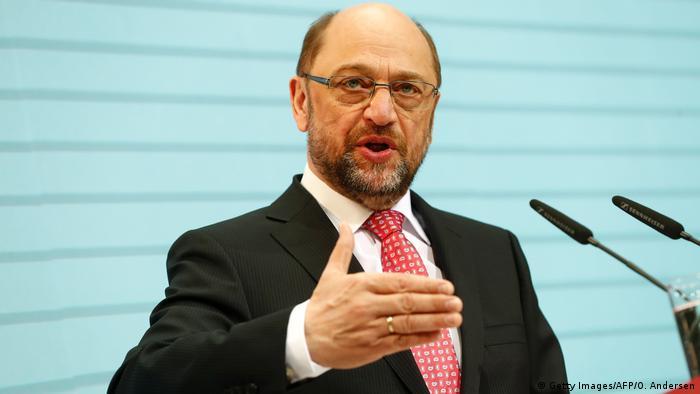Deutschland PK Martin Schulz SPD Kanzlerkandidat