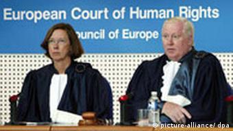Der Europäische Gerichtshofs für Menschenrechte (Foto: dpa)