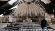 Irak Bakhdida - verwüstete Kirche