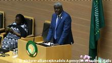 Äthiopien Treffen Afrikanische Union - Tschad Außenminister Moussa Faki