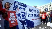 Deutschland Demonstration gegen die Wahl von Donald Trump