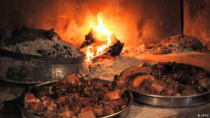 Peka, meso, pečenje