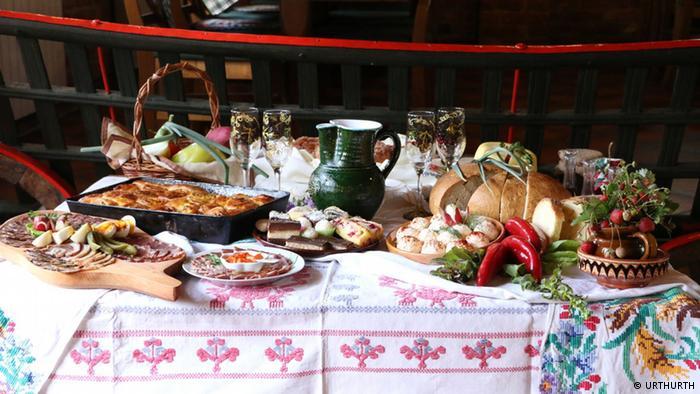 Kroatien - Frühstück auf dem Lande