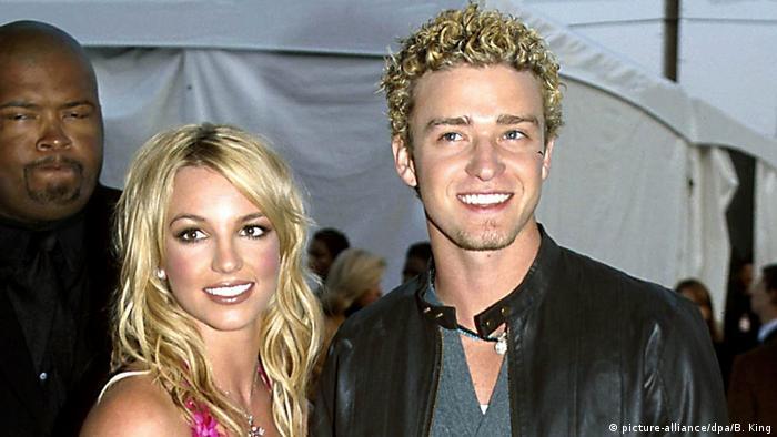 Britney Spears und Justin Timberlake 2002