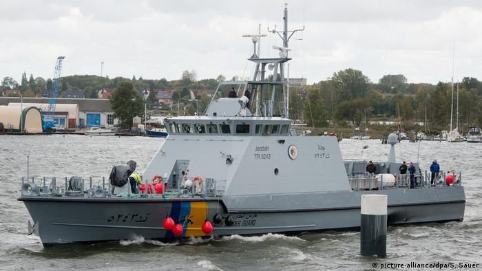 Deutschland Küstenschutzboot für Saudi-Arabien