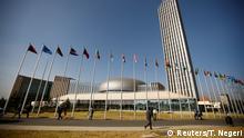 Äthiopien Hauptqartzier der Afrikanischen Union in Addis Ababa