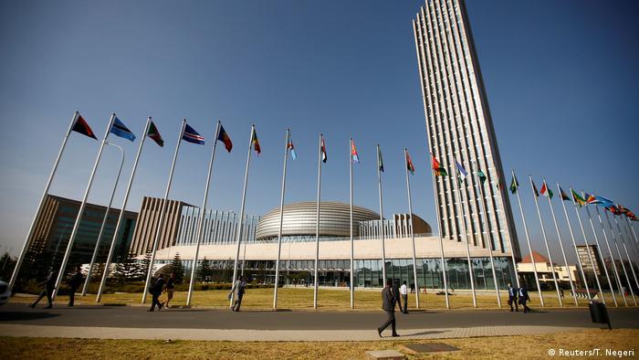 Africa Union headquarters in Addis Ababa (Reuters/T. Negeri)