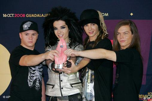 Tokio Hotel bei den MTV Latin Video Music Awards