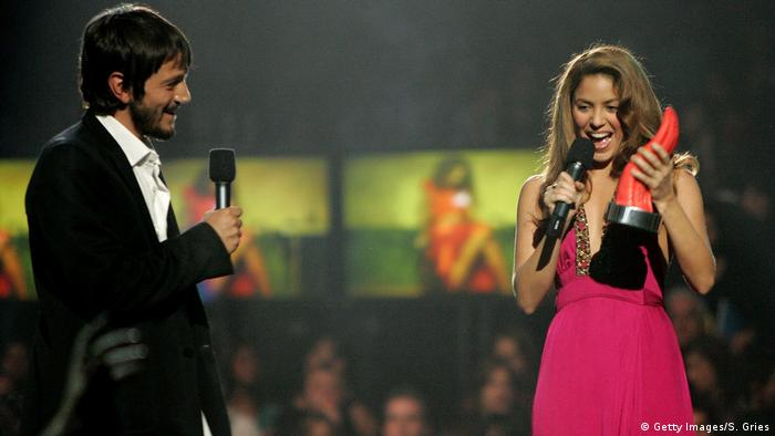 Shakira at the MTV Latino America 2006 (Getty Images/S. Gries)