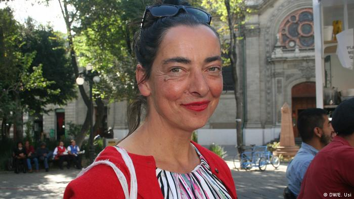La artista alemana Meggie Schneider.
