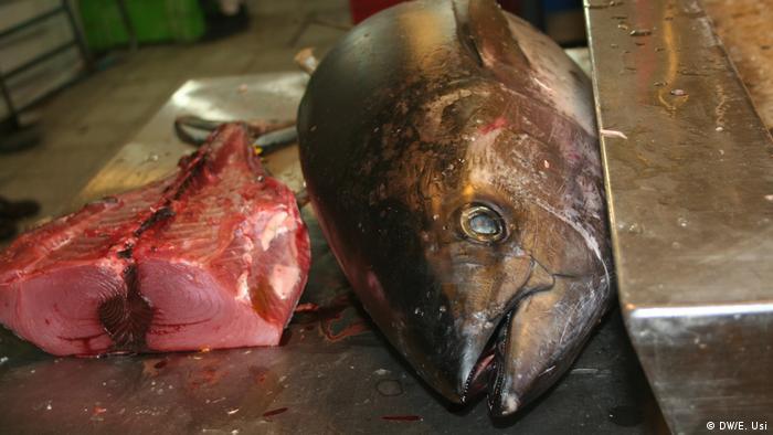 Las especies de pescado, tan espectaculares como las de carne, aves o verdura y fruta. Vale la pena una visita al mercado de San Juan, satélite del proyecto colectivo-culinario.