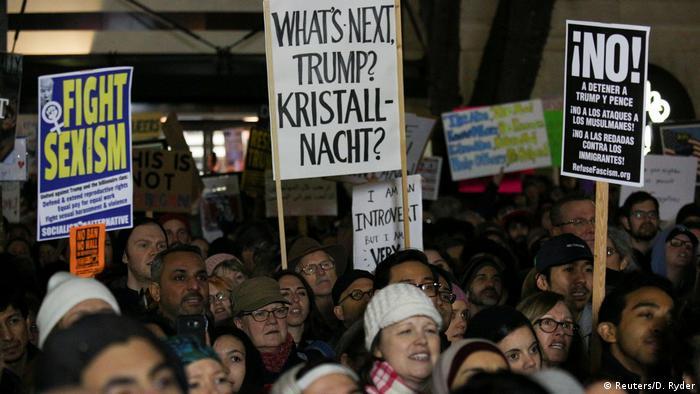 USA Staat Washington Protest in Seattle gegen Donald Trump - Einreisestopp