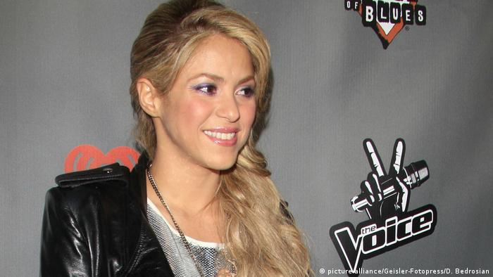 Shakira on The Voice (picture-alliance/Geisler-Fotopress/D. Bedrosian)