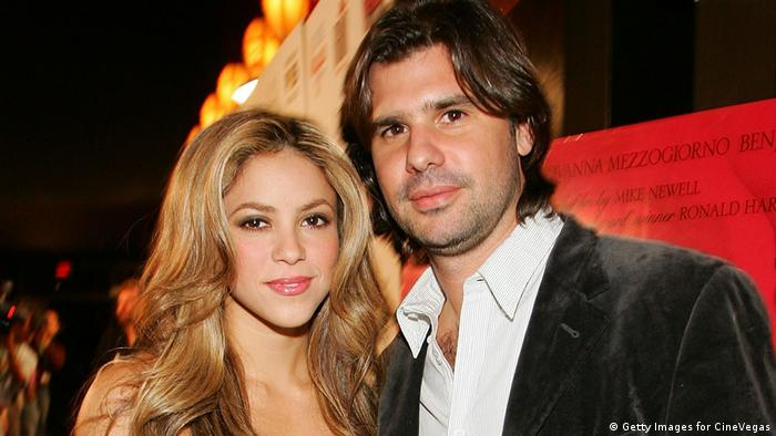 Shakira and Antonio de la Rua in Las Vegas 2007 (Getty Images for CineVegas)
