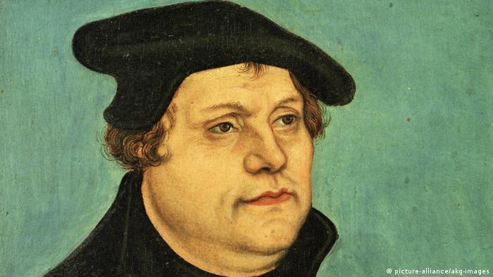Deutschland Gemälde von Martin Luther