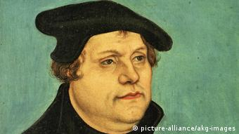 Gemälde von Martin Luther (picture-alliance/akg-images)