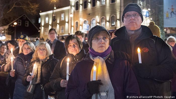 Kanada Trauer nach Anschlag auf Moschee in Quebec