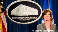 Washington Sally Q. Yates Vize-Justizministerin