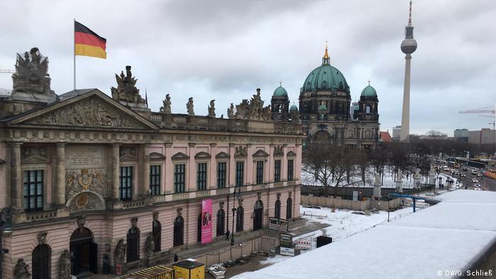 View from Unter den Linden, Berlin